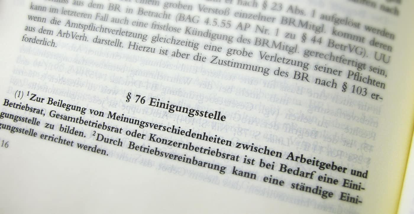 Sonderkündigungsschutz Pöppel Rechtsanwälte