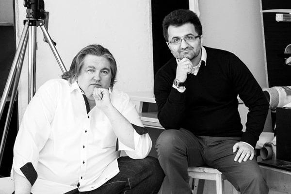 RA Axel Pöppel und RA Hamza Guelbas